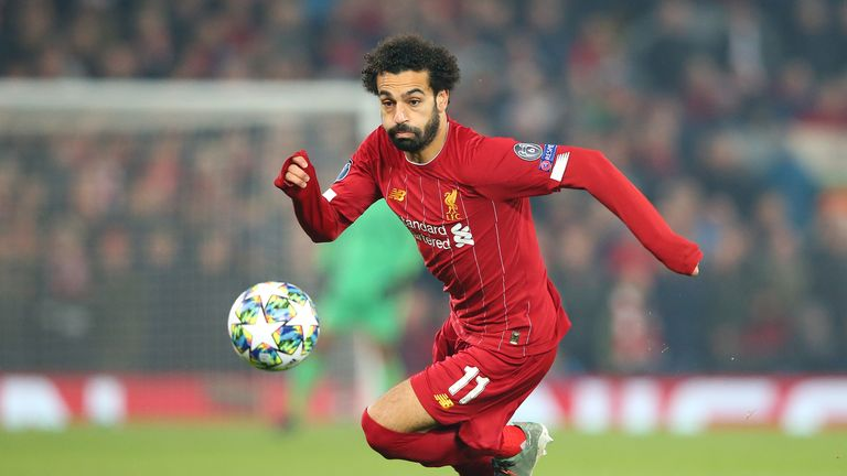 Liverpool's Mo Salah isn't worried about what people think of his goal record, as his side take on Manchester City on Super Sunday.