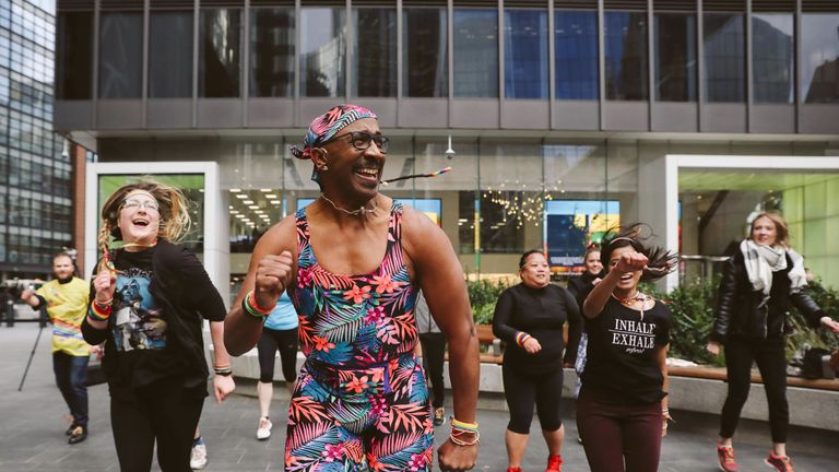 Now 67, Mr. Motivator still knows how to rock a unitard