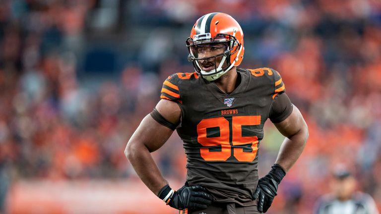 Myles Garrett has been the bright spot on Cleveland's defense