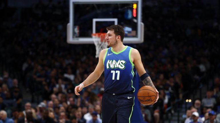 Luka Doncic of Dallas Mavericks