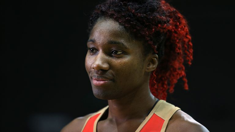 Ama Agbeze opens up about stepping back onto court after her World Cup hurt