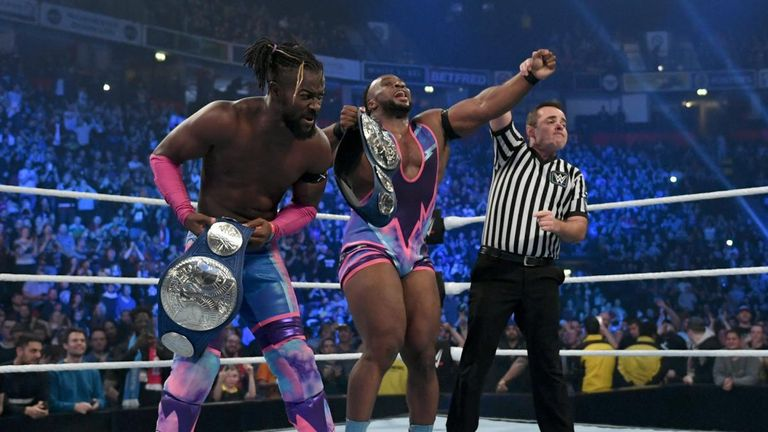 The New Day defeated The Revival to win the SmackDown tag titles in Manchester but have faced no challengers as yet from their home brand