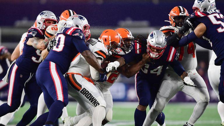 New England's defense has given quarterbacks fits this season
