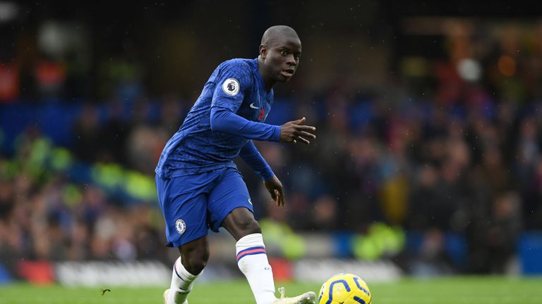 N'Golo Kante impressed at Crystal Palace on Saturday