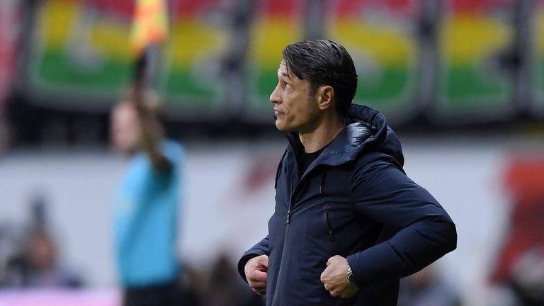 Niko Kovac is coming under increasing pressure as Bayern Munich head coach