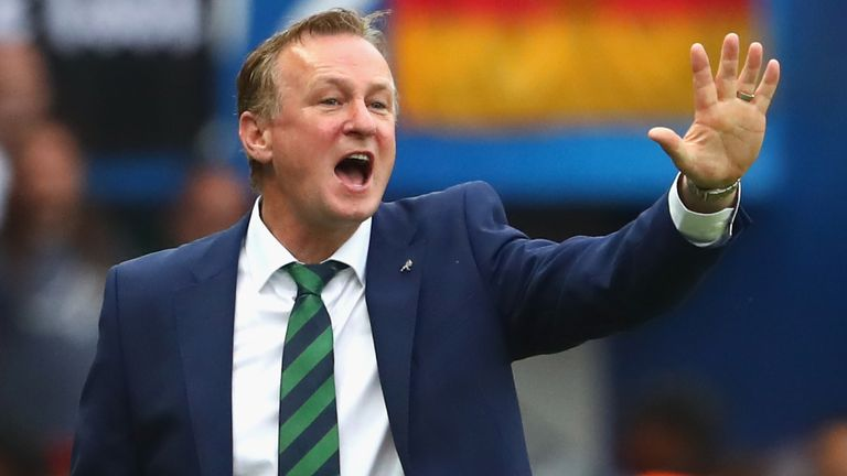 Michael O'Neill has been in charge of Northern Ireland for nearly nine years