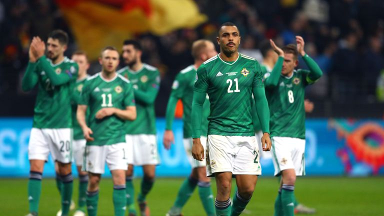Northern Ireland are due to play Bosnia in a play-off