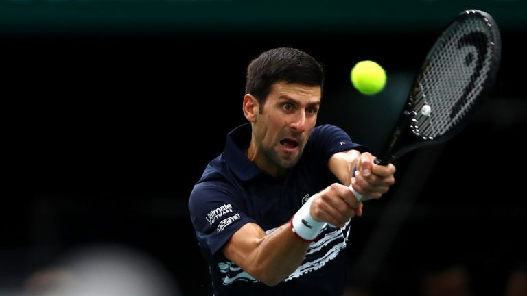 Novak Djokovic will be determined to regain top spot from Nadal at the season-ending tournament