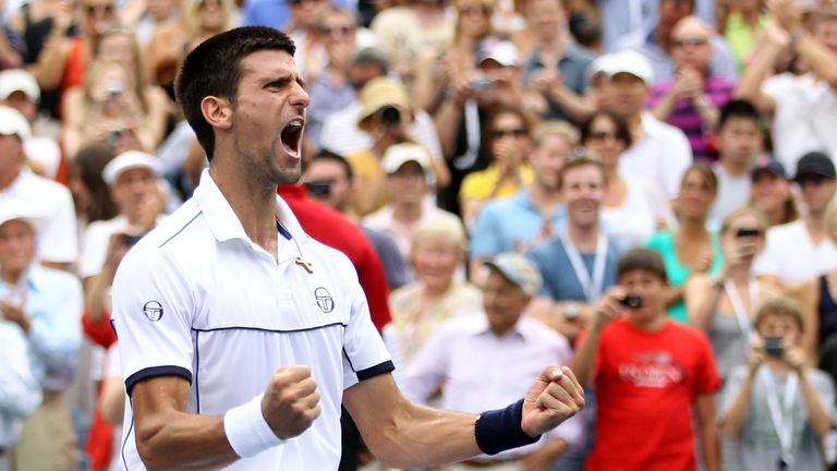 Djokovic completed a remarkable turnaround to dump Federer out