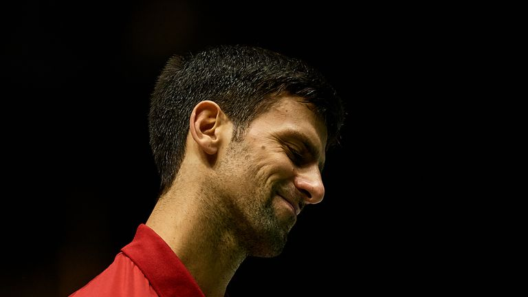 Novak Djokovic's Serbia crashed out of the Davis Cup on Friday