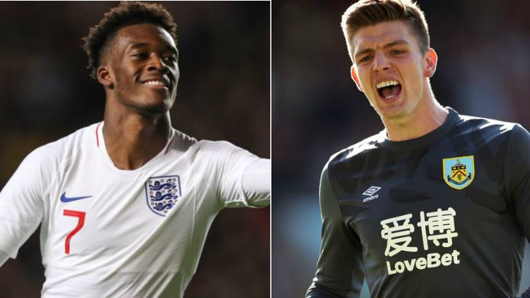 Callum Hudson-Odoi and Nick Pope are set for an England in Kosovo