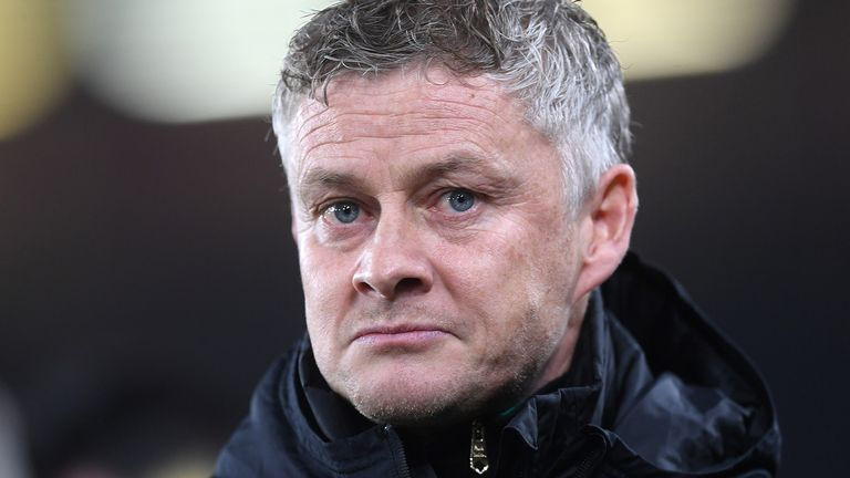 Ole Gunnar Solskjaer the head coach / maanager of Manchester United during the Premier League match between Sheffield United and Manchester United at Bramall Lane on November 24, 2019 in Sheffield, United Kingdom.