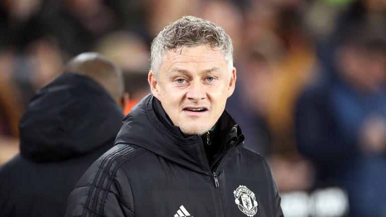 Ole Gunnar Solskjaer, Sheffield United vs Manchester United, Premier League, 24 November 2019