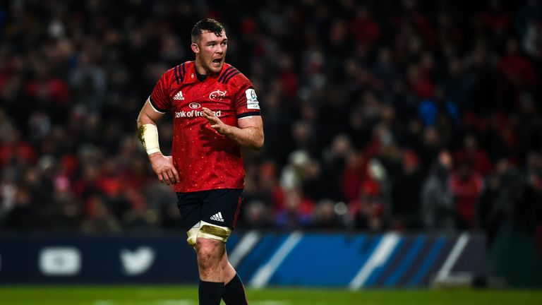 Munster skipper Peter O'Mahony is a pivotal figure at the province