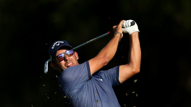 Pablo Larrazábal keeps top spot at Leopard Creek