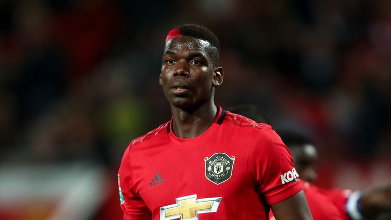 Paul Pogba has missed the last six weeks