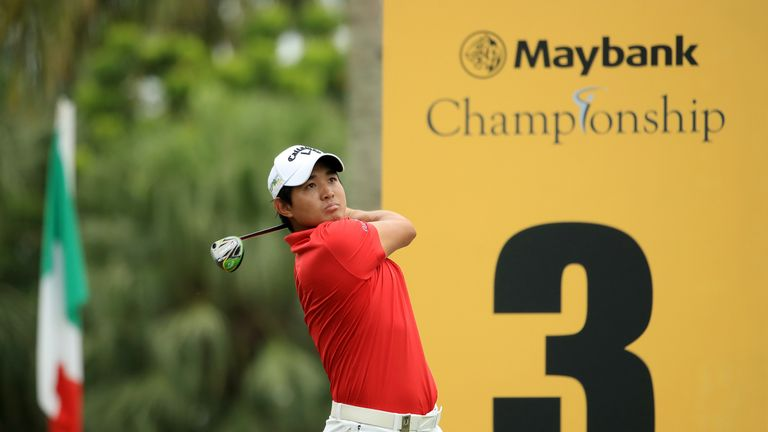 Pavit Tangkamolprasert chipped in to win in Malaysia