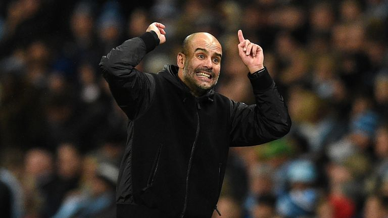 Pep Guardiola is aiming to become the first manager to win three successive Premier League titles since Sir Alex Ferguson did it at Manchester United from 2007-09