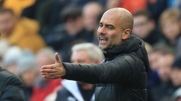 Pep Guardiola's Manchester City are adrift in the title race