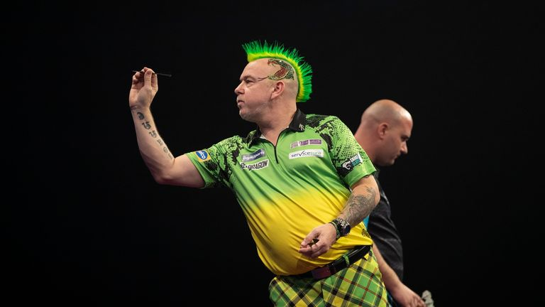 Snakebite has changed both his darts and his throwing style