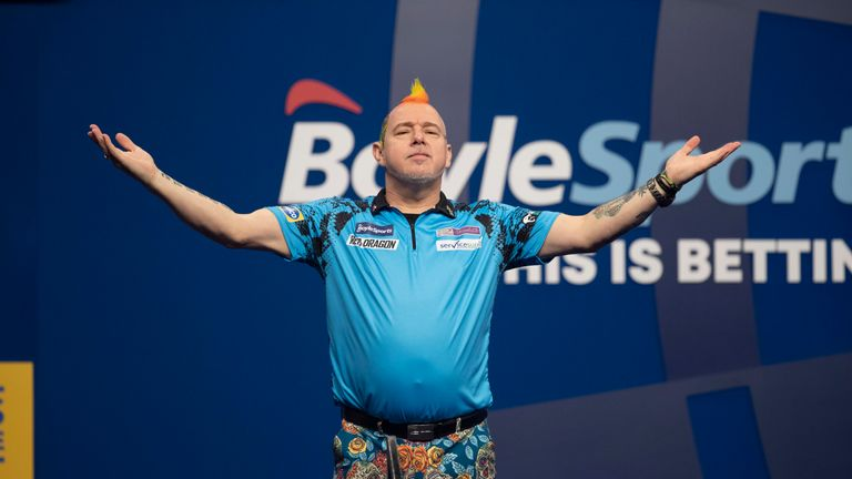 Peter Wright is through to his second Grand Slam final in three years