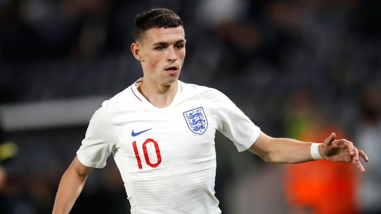 Phil Foden scored the opener for England U21s
