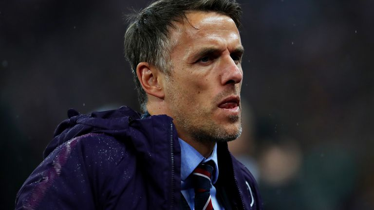 Phil Neville has come under criticism with England Women now having suffered five defeats in their last seven games