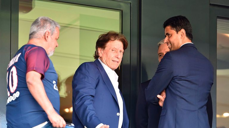 Agent Pini Zahavi was behind Jose Mourinho's move to Tottenham