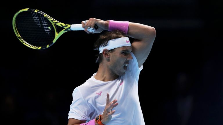 Rafael Nadal battles back from brink of defeat to sink Daniil Medvedev