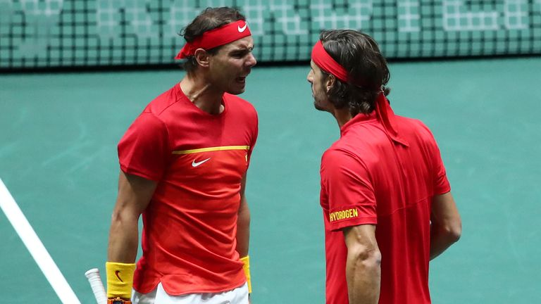 Lopez was part of the Spain squad that won the inaugural Davis Cup finals last year