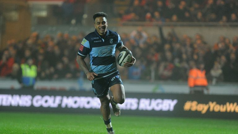 Rey Lee-Lo of Cardiff Blues