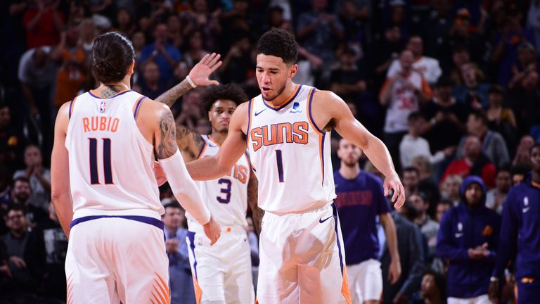 The Phoenix Suns, propelled by guard tandem Ricky Rubio and Devin Booker, are making the league sit up and take notice