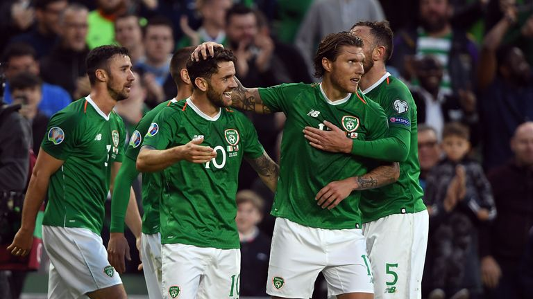 Republic of Ireland finished in third place behind Switzerland and Denmark in Euro qualifying Group D