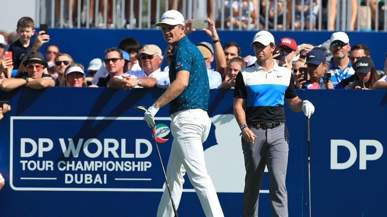 McIlroy was playing alongside Justin Rose, who posted a one-over 73
