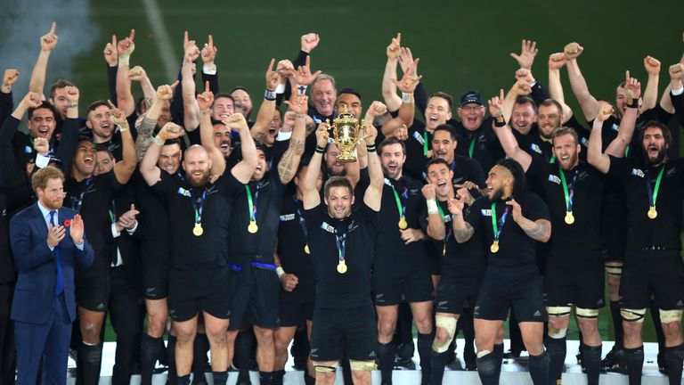 Richie McCaw captained New Zealand to back-to-back Rugby World Cup wins during the most-recent decade