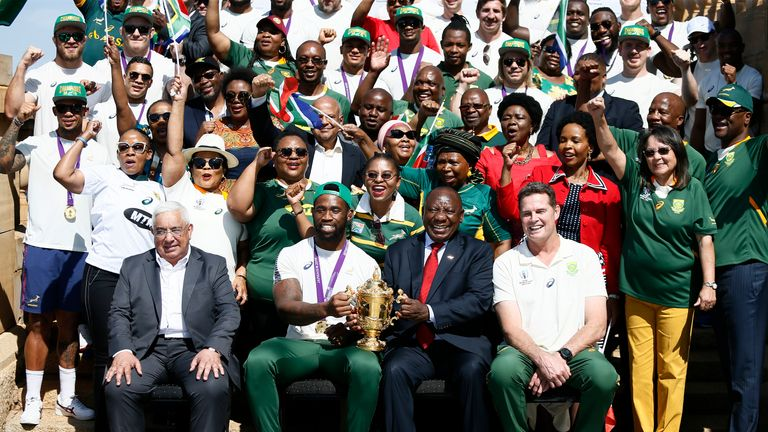 Siya Kolisi says seeing the South African people happy and united highlighted the importance of their Rugby World Cup success