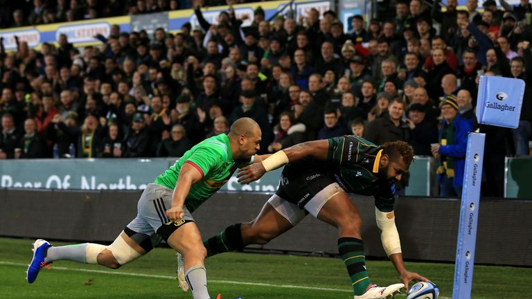 Taqele Naiyaravoro has scored four tries in seven appearances this season
