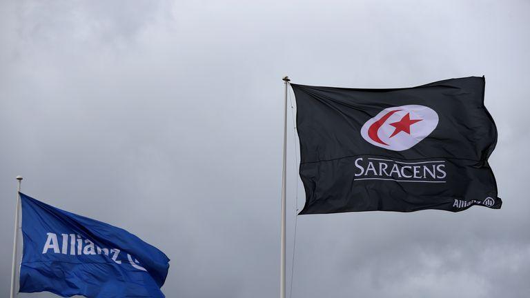 En noviembre, los sarracenos decidieron no apelar contra su deducción de 35 puntos y la multa de & # 163; 5.36m por incumplimiento del tope salarial