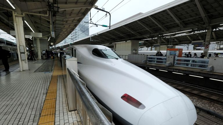The Shinkansen bullet train continues to be a source of wonder for the rest of the globe