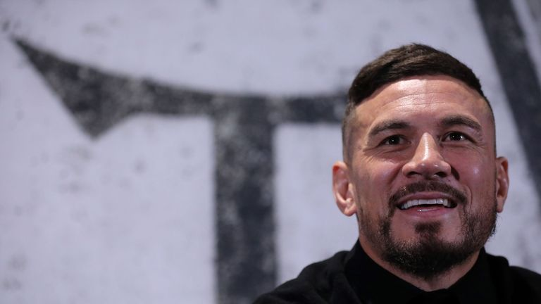 Sonny Bill Williams is unveiled by his new Canadian side... in London