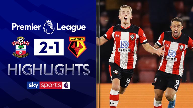 FREE TO WATCH: Highlights from Southampton's win over Watford in the Premier League
