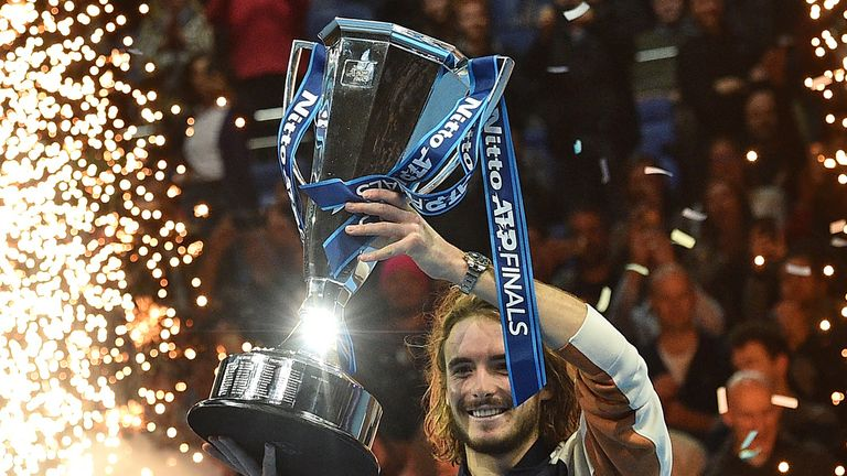 Stefanos Tsitsipas won the ATP Finals in London last year
