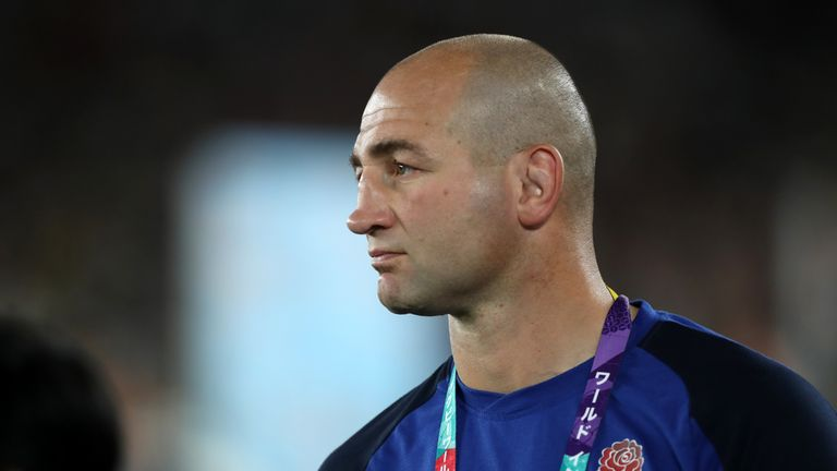 Steve Borthwick was appointed England forwards coach in December 2015