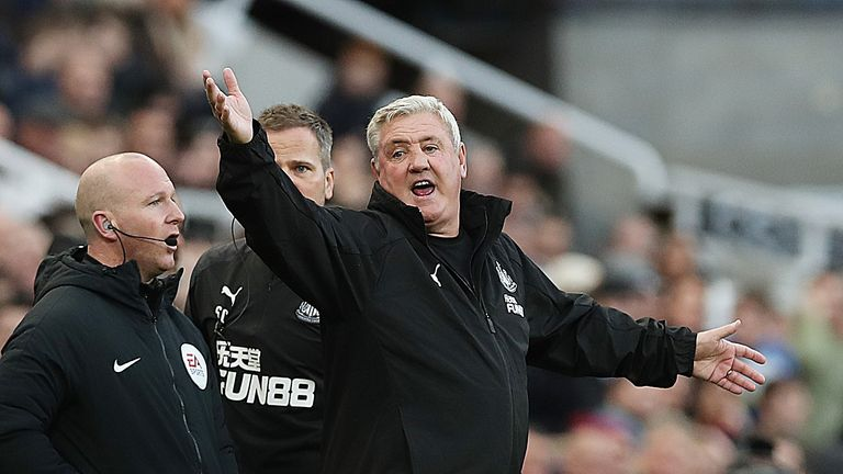 Steve Bruce's Newcastle visit West Ham on Saturday
