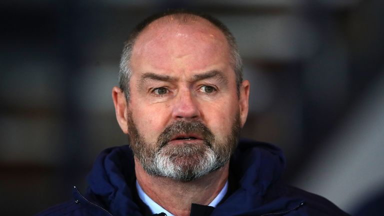 Steve Clarke has urged Scotland supporters to stay home and save lives