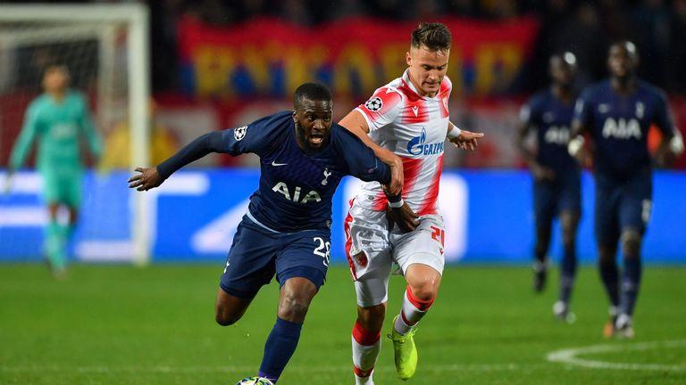 Tanguy Ndombele shone for Spurs against Red Star Belgrade