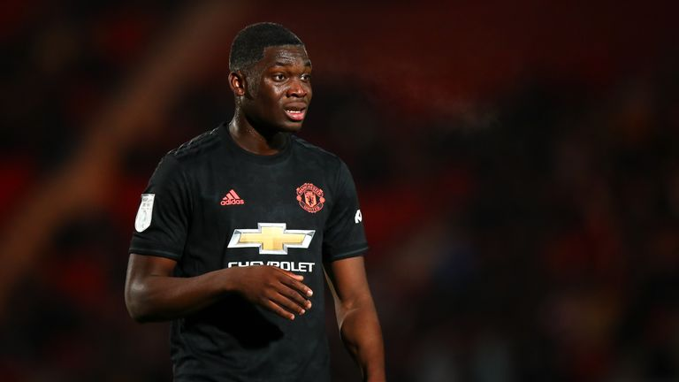 Manchester United youngster Teden Mengi