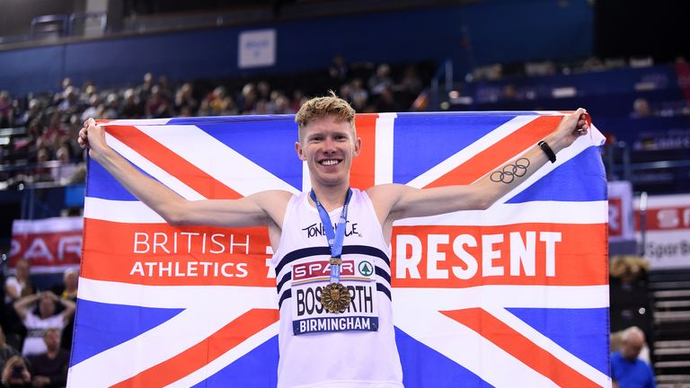 Tom Bosworth is among the British Olympic hopefuls who will hope to make their mark at Tokyo 2020