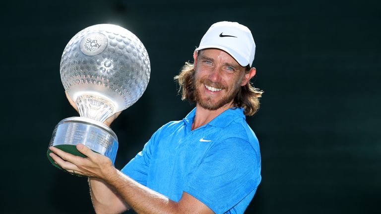 Fleetwood's win in South Africa in November was his first in almost two years