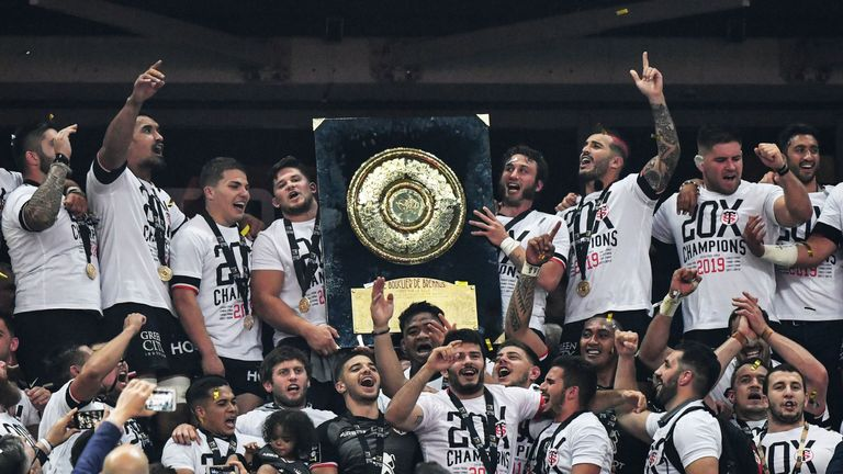 Toulouse are the reigning Top 14 champions